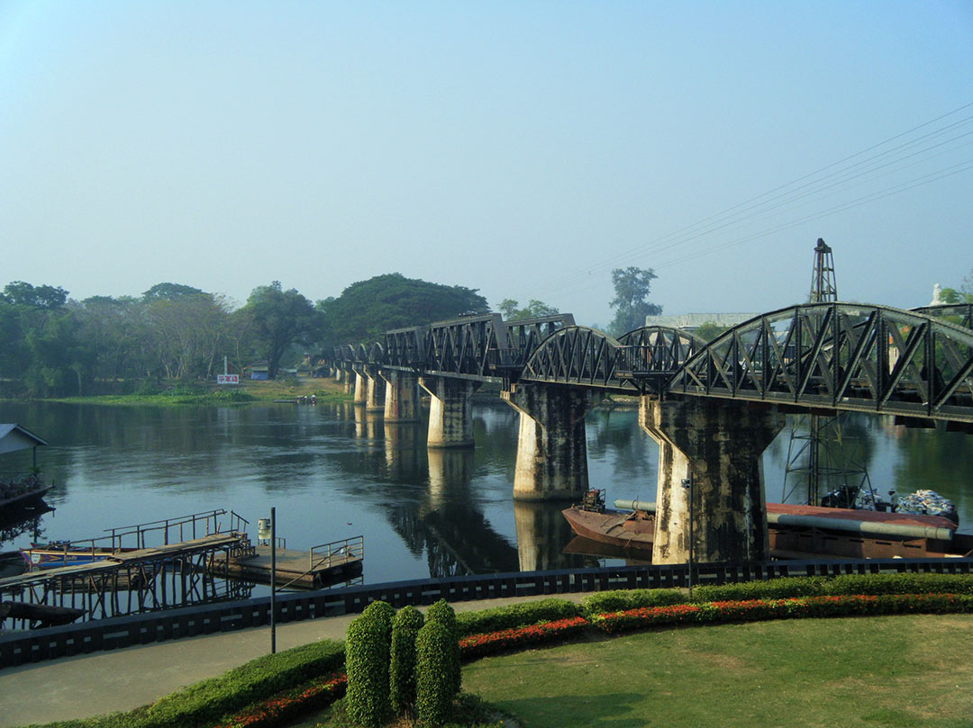 Travel Destination: In Search of the Bridge on the River Kwai   The Baby  Bloomer